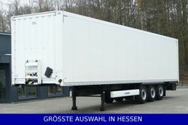 closed box semi trailer Krone Rolltor Liftachse Code XL € 269.- mtl.Rate 2012