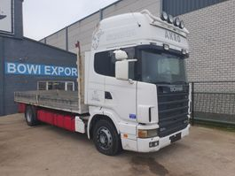 tilt truck Scania 420 1999