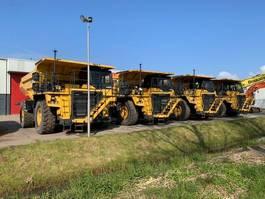rigid dump truck Komatsu 3x HD605-7E1 2016