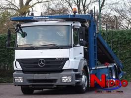 car transporter truck Mercedes-Benz AXOR 1829 EURO 5 KÄSSBOHRER CITYTRANS AIRCO 2010