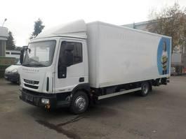 closed box truck Iveco Eurocargo 75E16 Koffer 2010