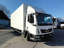 closed box truck MAN TGL 8.180 Euro 6 manuell Koffer L7,1_H2,5