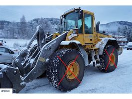 wheel loader Volvo L120E w / lever steering and 3rd & 4th function. 2005