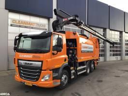 Müllfahrzeug DAF FAN CF 340 Hiab 21 ton/meter laadkraan 2020