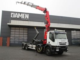 container truck Iveco TRAKKER 450 EEV 8x4 2010