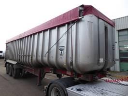 tipper semi trailer Fruehauf Cerals, 55 m3, SAF, Steel Chassis, Alu Box/ Alu Aufbau, Getreide, Cereal... 2002