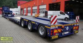semi lowloader semi trailer Doll 1+3-Achs-Tiefbett-Kombination mit Panther-Fahrwerk