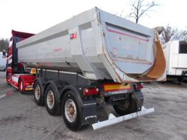 tipper semi trailer Schwarzmüller SK 26 HARDOX, KIPPER, Rundmulde 2015
