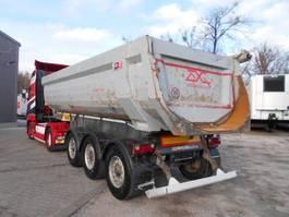 tipper semi trailer Schwarzmüller SK 1.  HARDOX, KIPPER, Rundmulde 2015