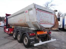 tipper semi trailer Schwarzmüller SK HARDOX, KIPPER, Rundmulde, 2 2015