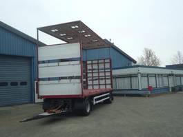 sliding curtain trailer GS AV-2000 2 As Schuifzeilen + Hefdak voor Kippentransport 2014