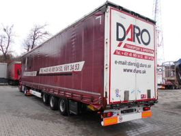 mega-volume semi trailer Krone SDP 27 1. MEGALINER, LIFT A. HUBDACH 2011