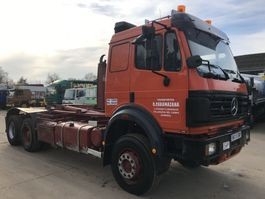 container truck Mercedes-Benz SK2638 V8 6X2 **10TYRE'S-FULL STEEL SUSPENSION** 1997