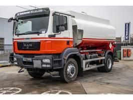 tank truck MAN TGM 18.340 4X4+ EURO5+TANK 12000L(5COMP.) 2011