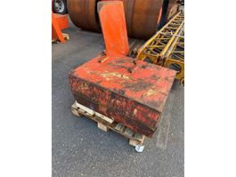 other equipment part Terex Demag AC 100 side wings counterweight