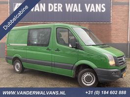 closed lcv Volkswagen Crafter 2.0TDI 136pk L2H1 Dubbel Cabine Airco, cruisecontrol, trekhaak, 5-zits 2014