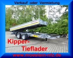 tipper truck > 7.5 t Möslein TTG 11 Verzinkt  Tandem 3- Seitenkipper Tieflader-- Neufahrzeug -- 2021