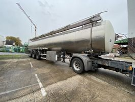 tank semi trailer semi trailer Magyar chemical - 32550- Heating-ADR - 2 units 1997