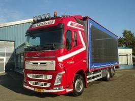 sliding curtain truck Volvo FH460 6x2 Schuifzeilen Hefdak Kippentransport Liftas en Stuuras Euro 5 2014