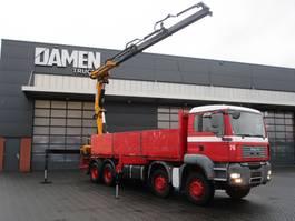 crane truck MAN TGA 32.360 8x4 EFFER 370.11/4S 2008