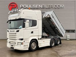 cab over engine Scania R580 Tractor with Tipper 2016
