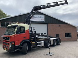 container truck Volvo FM 440 8X2 NCH 30T Cable + HIAB 211EP3 HiDuo EURO 5 2008