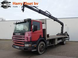 drop side truck Scania P 94 300 2003
