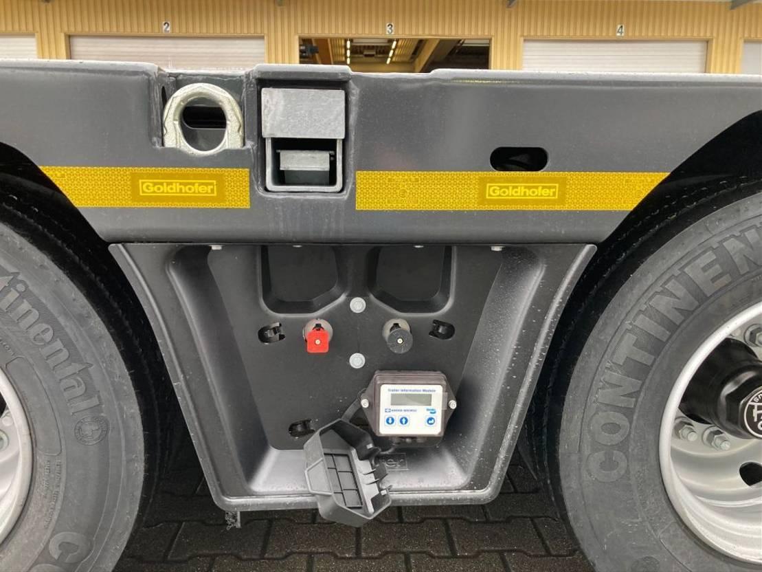 Satteltieflader Auflieger Goldhofer 3-Achs-Tele-Semi Stepstar