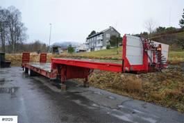 anderer Auflieger Dam m 2 axle machine trailer with new tires 1979