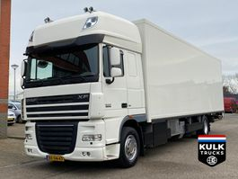 refrigerated truck DAF XF 105.410 / SSC / MULDER BLOEMEN RACE TRS ICELAND / TOP CONDITION! 2009