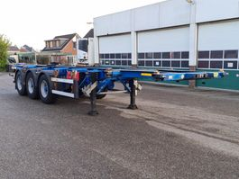container chassis semi trailer Groenewegen Tank Container Chassis 30ft. / 20ft. / ADR 2007