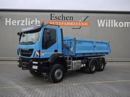 tipper truck Iveco AD 260 TW 41, Trakker, AP Achsen, Blatt 2014