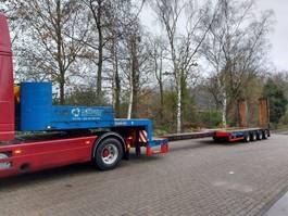 lowloader semi trailer Goldhofer STZ-L4-44/80 Rampen 5,8mTele hydr gestuurd 1994