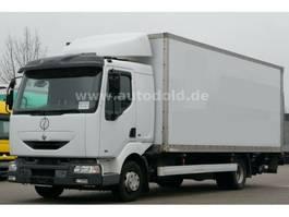 closed box truck Renault Midlum 210 .10 Koffer LBW Schalter analoger Tacho 2000