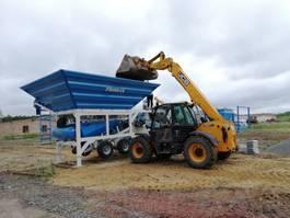 concrete batching plant Promax M35-PLNT Mobile Concrete Batching Plant 2021