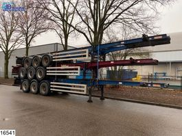 Container-Fahrgestell Auflieger Dennison Container Set prijs 3 units = 10000 euro, 40 FT 2005