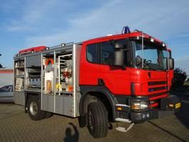 fire truck Scania P 114 CB 4X4 HZ 340 2004