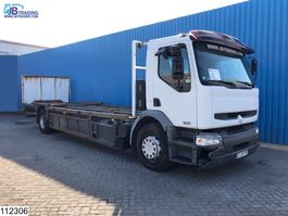 platform truck Renault Premium 270 Manual, Telma - Retarder, Airco, Hub reduction, An 2005