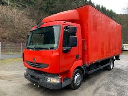 closed box truck Renault 220 DXI Midlum ** Koffer/EX-Werkstatt/Strom ** 2010