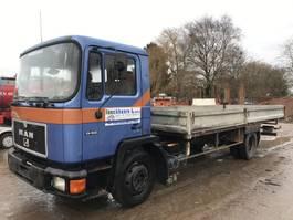 drop side truck MAN 13.192 6Cyl **FLATBED-BELGIAN TRUCK** 1992