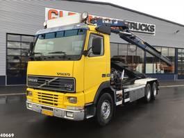 container truck Volvo FH 12.340 Hiab 17 ton/meter laadkraan 1998