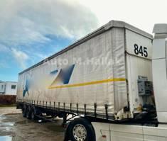 sliding curtain semi trailer Fruehauf Standard Tautliner / SMB / Liftachse Edscha
