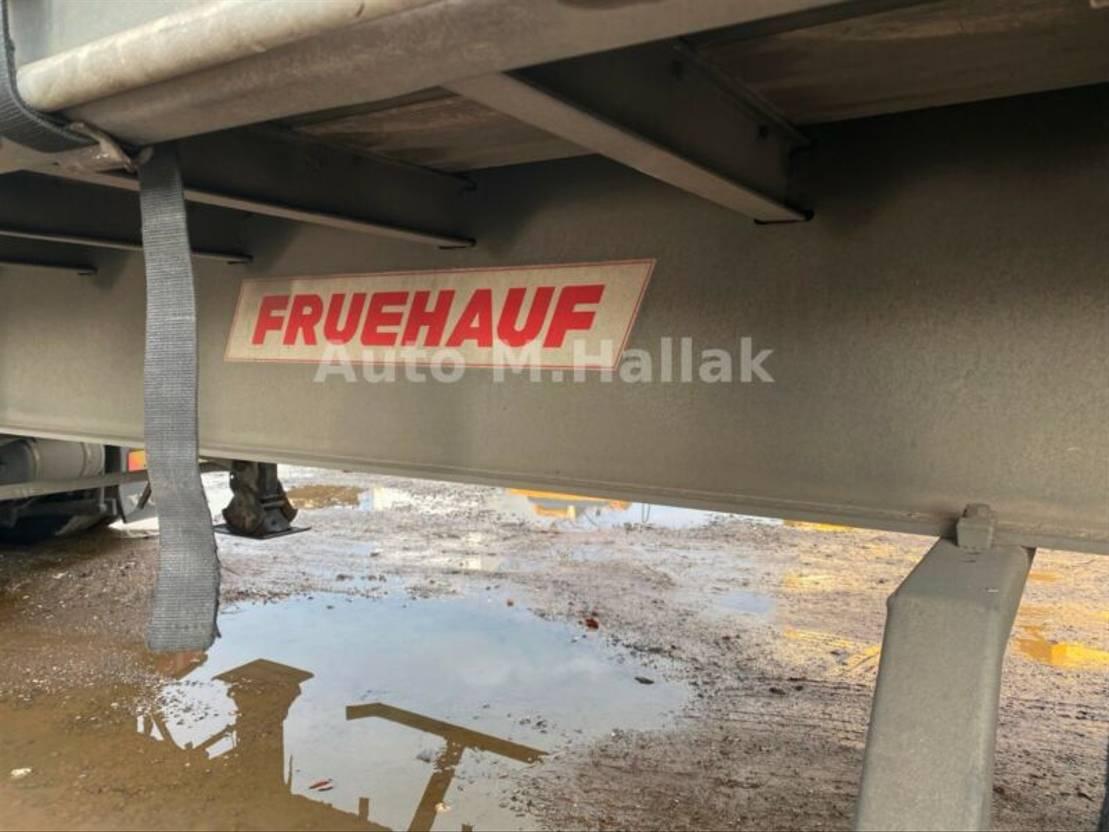 Schiebeplanenauflieger Fruehauf Standard Tautliner / SMB / Liftachse Edscha