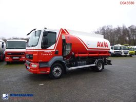 tank truck DAF LF 55 220 4X2 fuel tank 11.4 m3 / 3 comp / ADR VALID 07/2021 2008