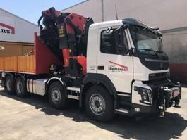 crane truck Volvo Volvo Fmx 460 Palfinger 110002 Sh + Jib 2019