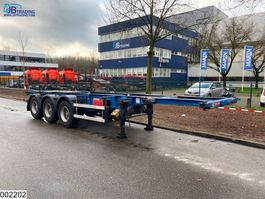 container chassis semi trailer Groenewegen Container 20 / 30 FT 2001