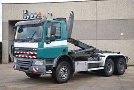 container truck DAF CF 75.310 6X4 CONTAINER SYSTEEM- CONTAINER SISTEEM- CONTAINER HAAKSYSTEEM- SYSTEME CONTENEUR 2010
