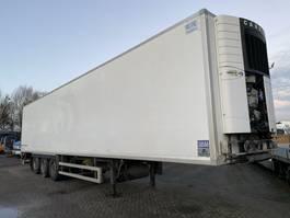 refrigerated semi trailer Fruehauf 3 AS - SAF - DISC BRAKES + CARRIER VECTOR 1850 + LAADKLEP 2012