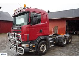 cab over engine Scania R144 6x4 truck w / hydraulics WATCH VIDEO 2000
