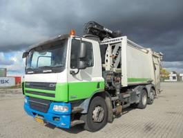 garbage truck DAF FAN CF75-250 6X2 2010